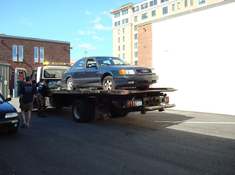 Flat Tire Towing service NY